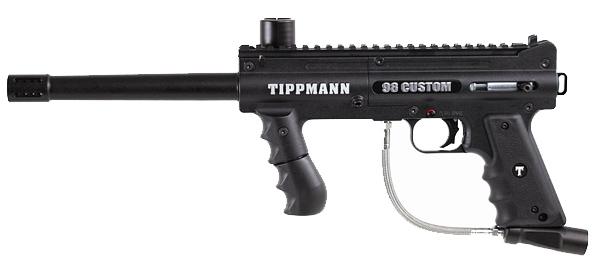 tippmann 98 custom paintball gun review