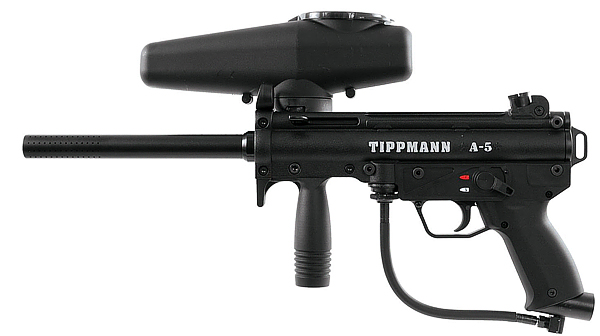 Tippmann A5 Paintball gun review