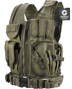 tactical military chest rig