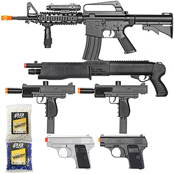 cheap airsoft guns bundle